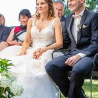 Hochzeitsfotografie Goitzsche in Bitterfeld Villa Bernsteinsee mit freier Trauung _3